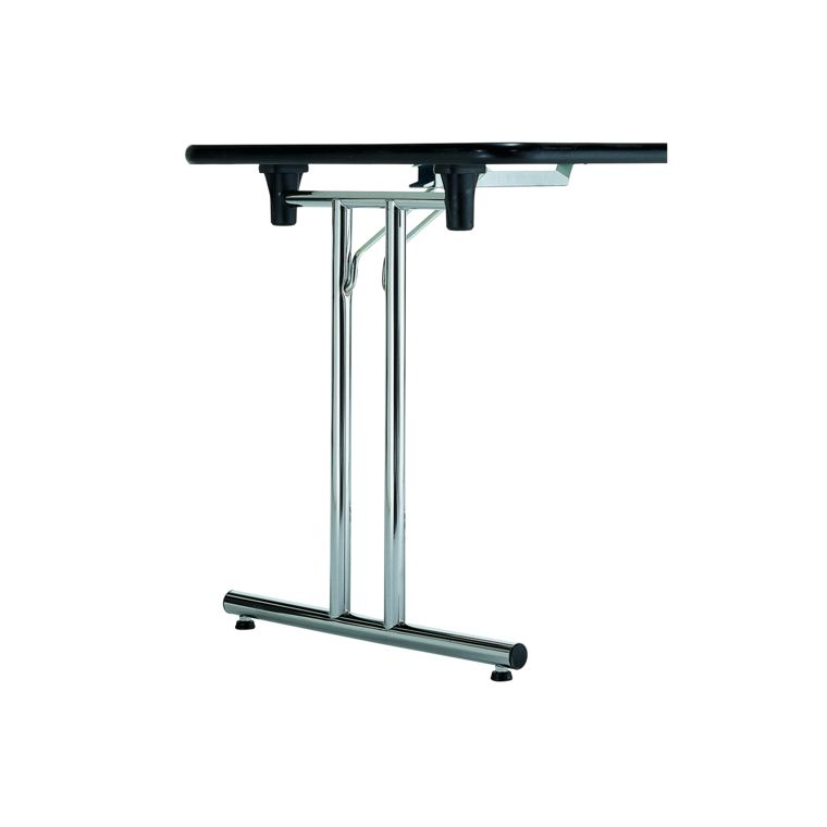Pied De Table Rabattable En Set Chrome Poli Hauteur 715mm Sfs