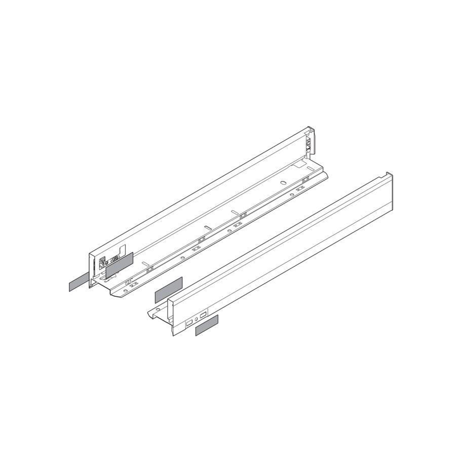Blum zarge legrabox pure m 90mm seidenweiss zargensysteme auszugsysteme und schubladen küche und möbel beschläge sfs
