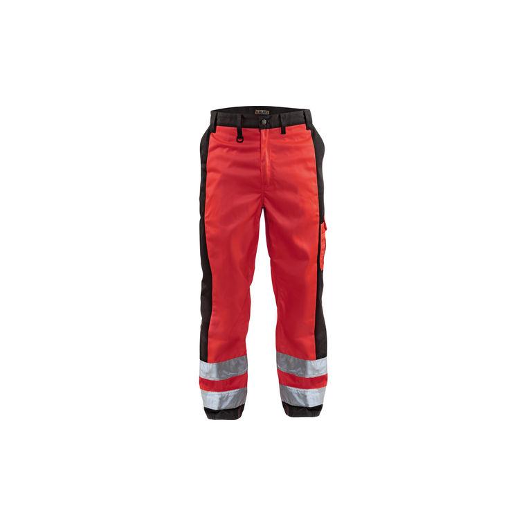 NoirPantalons Signalisation De Pantalon Blakläder Rouge JTlKcF1