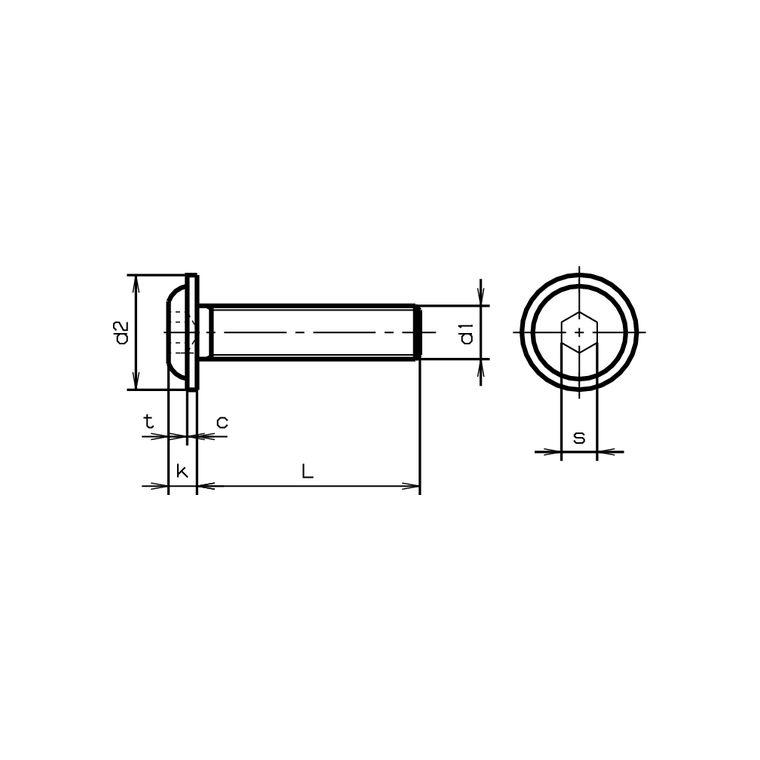 Innensechskant 10, M3x20 mm 10 St/ück Linsenkopf Schrauben mit Flansch M3x20 mm A2 Edelstahl V2A ISO 7380//2 Linsenflanschkopfschrauben
